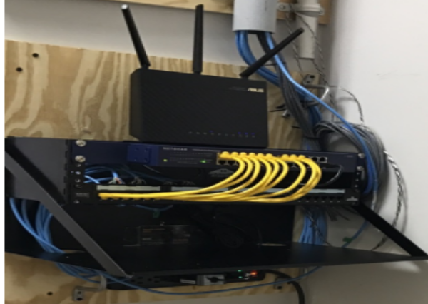 Patch Panel, Switch & Router